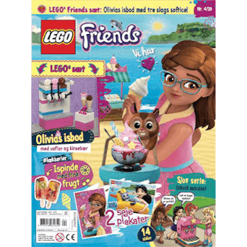LEGO Friends blad abonnement